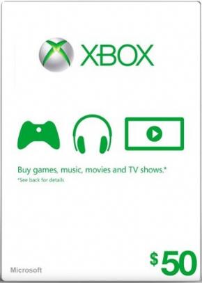 Cartão 50 Dólar Microsoft...