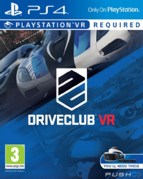 DriveClub VR Playstation...