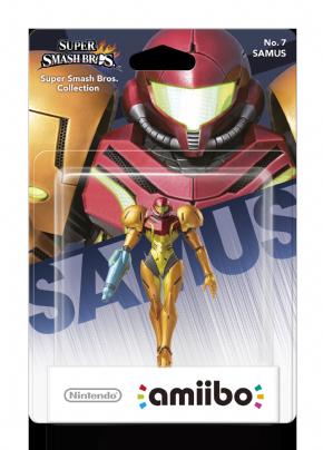 Samus Smash Bros - amiibo