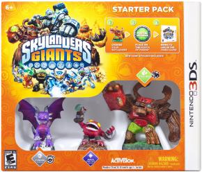 Foto Kit Skylanders Giants - Starter Pack - 3DS (Seminovo)