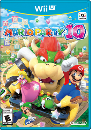 Mario Party 10 Wii U - Seminovo