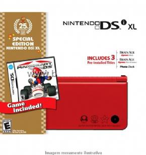 Foto Nintendo DSi XL Edição Limited 25 The Anniversary+ 1 Ano de Garantia ZG!