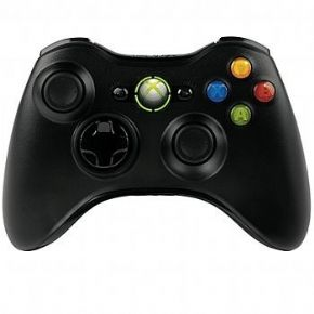 Foto Controle XBOX 360 Wireless ORIGINAL Preto (Seminovo)