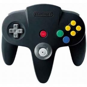 Controle Nintendo 64 Pret...