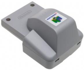 Foto Rumble Pak Original Nintendo 64 (Seminovo)