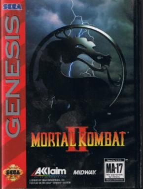 Mortal Kombat II Mega Dri...