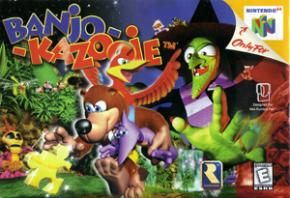 Banjo Kazooie Nintendo 64...