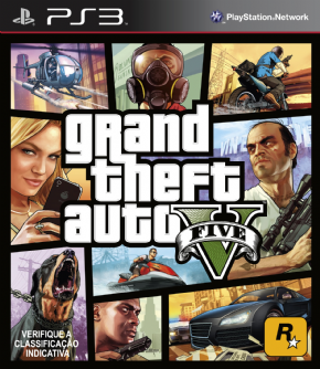 Grand Theft Auto V PS3 - Seminovo
