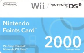 Nintendo Points Card - 20...