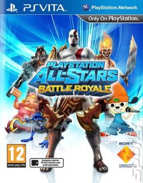 Playstation All-Stars Battle Royale PSVi...