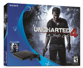 Sony Playstation 4 Slim Bundle Uncharted...