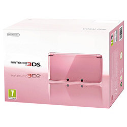 Nintendo 3DS Coral Pink +...