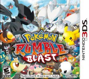 Pokemon Rumble Blast 3DS...