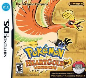 Pokemon Heart Gold DS