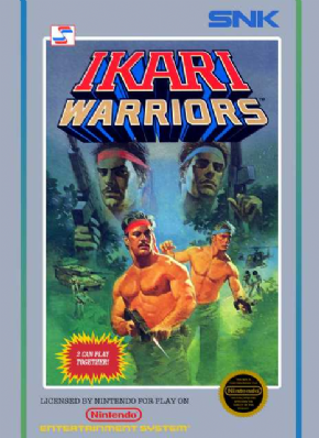 Ikari Warriors (60 pinos)...
