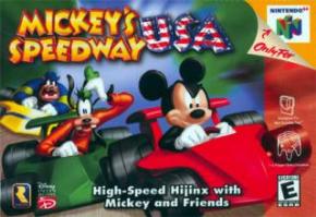 Mickey Speedway USA Ninte...