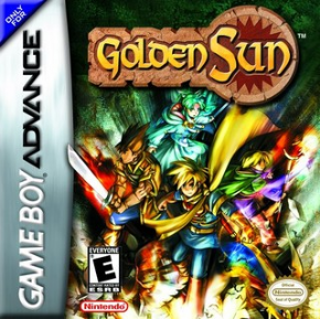 Golden Sun GameBoy Advanced - Seminovo