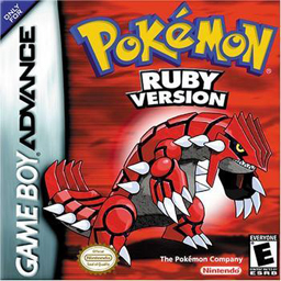 Pokemon Ruby Version Game Boy Advance -...