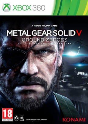 Foto Metal Gear Solid V Ground Zeroes (Seminovo) XBOX 360