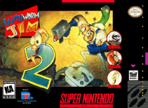EarthWorm Jim 2 (Seminovo) Super Nintend...