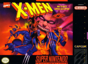 Foto X-Men Mutant Apocalipse (Seminovo) Super Nintendo
