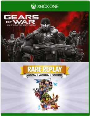 Foto Rare Replay & Gears of War Ultimate Editon (Seminovo) XBOX ONE