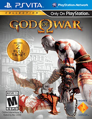 God of War Collection PSVita - Seminovo