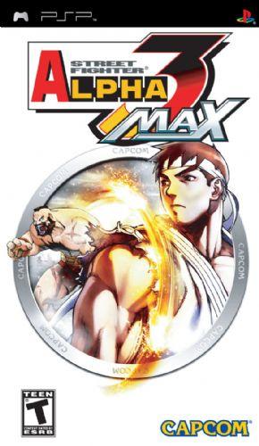 Foto Street Fighter Alpha 3 Max PSP