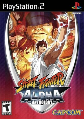 Street Fighters Alpha Ant...