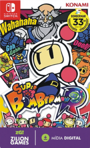 Bomberman R MIDIA DIGITAL...