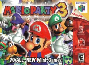 Mario Party 3 (Seminovo)...