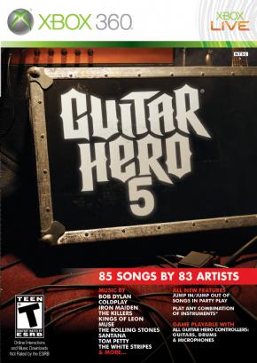 Guitar Hero 5 (Seminovo)...