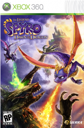 Spyro Dawn of the Dragon...