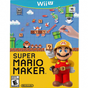 Super Mario Maker (Seminovo) Wii U
