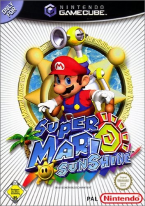 Super Mario Sunshine (Seminovo) Game Cub...