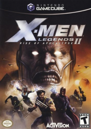 Foto X-Men Legends II (Seminovo) Game Cube