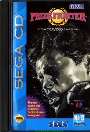 Foto Prize Fighter (Seminovo) Sega CD