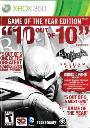 Foto Batman: Arkham City - Game of the Year Edition XBOX360