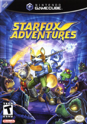 Star Fox Aventures Game C...