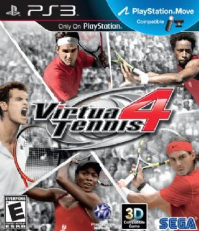 Virtua Tennis 4 (Seminovo...