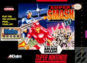 Foto Super Smash TV (Seminovo) Super Nintendo