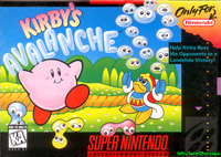 Foto Kirbys Avalanche (Seminovo) Super Nintendo