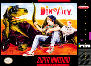 Foto Dino City (Seminovo) Super Nintendo