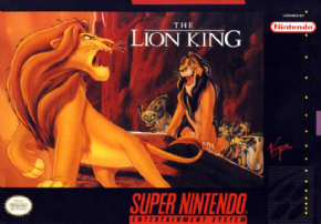Foto Lion King (Seminovo) Super Nintendo