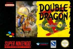 Foto Double Dragon V (Seminovo) Super Nintendo