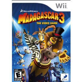 MADAGASCAR 3 Wii