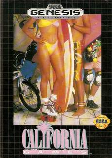 California Games (Seminovo) Mega Drive