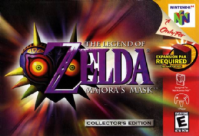Foto The Legend of Zelda Majoras Mask (Seminovo) Nintendo 64