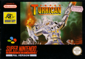 Super Turrican (Seminovo)...