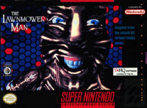 Foto The Lawnmower Man (Seminovo) Super Nintendo